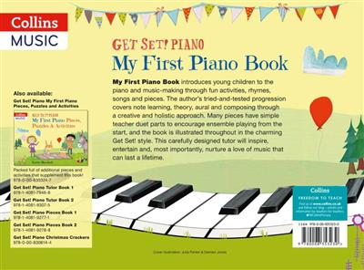 Cover for Get Set Piano My First Piano Book
