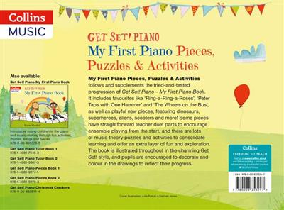 Cover for Get Set Piano My First Pieces And Activities