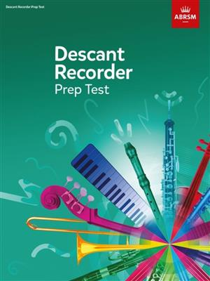 Recorder Prep Test Cover