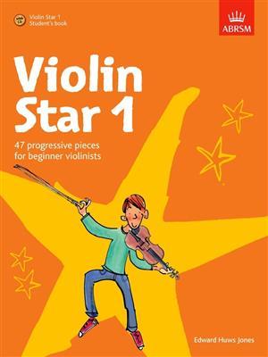 Edward Huws Jones: Violin Star 1 - Student's Book. Sheet Music, CD