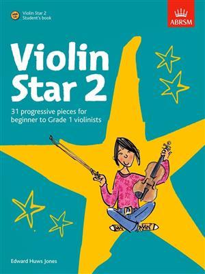 Edward Huws Jones: Violin Star 2 - Student's Book. Sheet Music, CD
