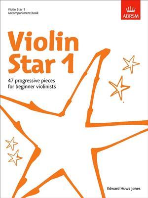 Edward Huws Jones: Violin Star 1 - Accompaniment Book. Piano Accompaniment Sheet Music