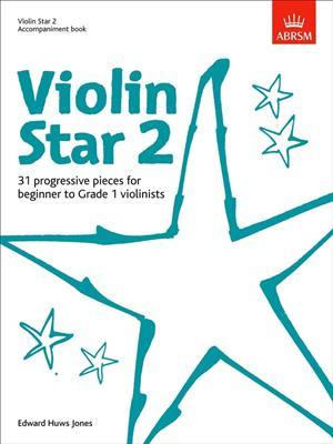 Edward Huws Jones: Violin Star 2 - Accompaniment Book. Piano Accompaniment Sheet Music