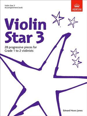Edward Huws Jones: Violin Star 3 - Accompaniment Book. Piano Accompaniment Sheet Music
