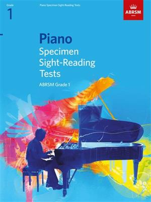 ABRSM Piano Specimen Sight Reading Tests: From 2009 (Grade 1). Sheet Music Cover
