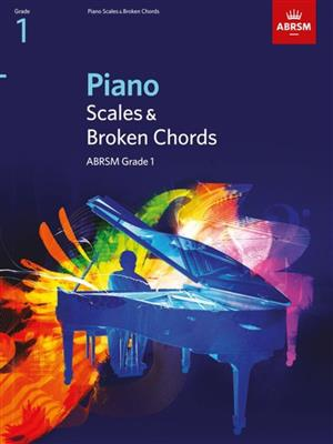 ABRSM Piano Scales and Broken Chords: From 2009 (Grade 1). Sheet Music Cover