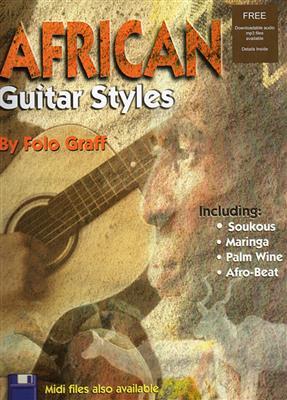Folo Graff: African Guitar Styles (Book/CD). Sheet Music, CD
