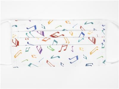 Face Covering Music Design 19 (Cotton) 18,5*9,5 cm