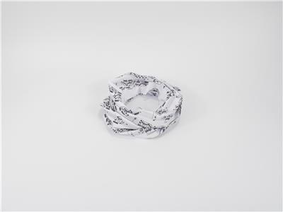 Loop Scarf Sheet Music Black/White 25*50 cm