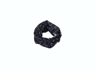 Loop Scarf Notes White/Black 25*50 cm