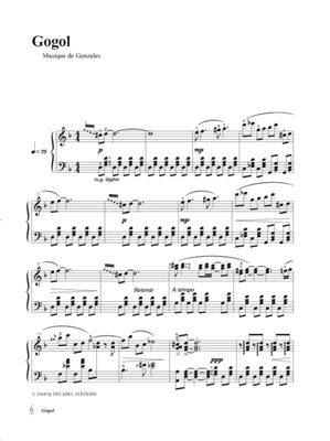(Chilly) Gonzales: Solo Piano - Notebook Volume 1. Sheet Music