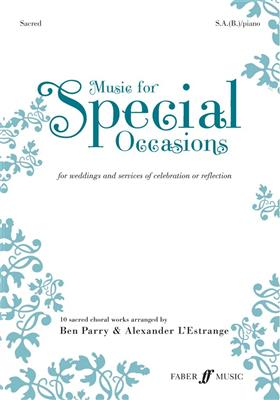 Music For Special Occasions - For Weddings And Services Of Celebration Or Reflection - Sacred Cover