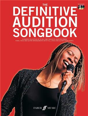 The Definitive Audition Songbook. PVG Sheet Music, CD