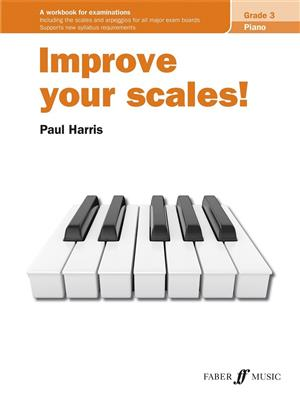 Cover for Improve your scales Piano Grade 3