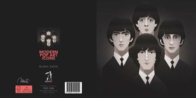 Pop Art Icons The Beatles Card