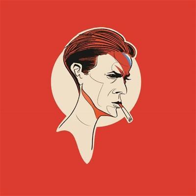 Pop Art Icons David Bowie Card