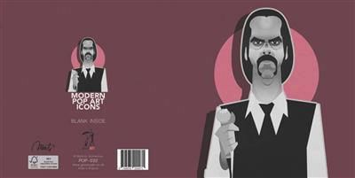Pop Art Icons Nick Cave Card