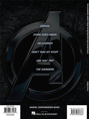 Alan Silvestri: The Avengers. Piano Sheet Music