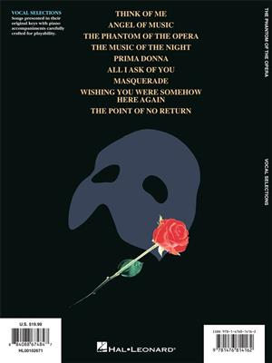 Andrew Lloyd Webber: The Phantom of the Opera (Vocal Selections)