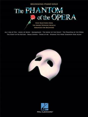 Andrew Lloyd Webber: The Phantom Of The Opera - Beginning Piano Solo