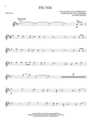 Alto Saxophone Play-Along: Coldplay (Book/Online Audio)