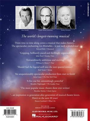 Alain Boublil/Claude-Michel Schönberg: Les Misérables – Beginning Piano Solo