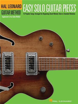 Hal Leonard Guitar Method: Easy Solo Guitar Pieces