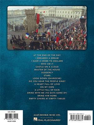 Alain Boublil/Claude-Michel Schönberg: Les Miserables (Selections From The Movie) - Easy Piano