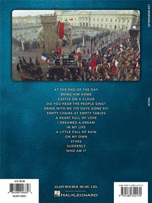 Alain Boublil/Claude-Michel Schönberg: Les Miserables - Solos From The Movie (Violin)
