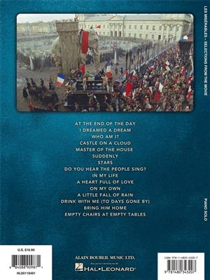 Alain Boublil Claude Michel Schonberg Les Miserables Selections From The Movie Piano Solo