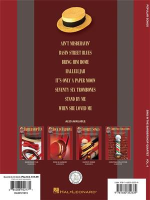 Popular Songs - Sing In The Barbershop Quartet Volume 4 (Book/CD)