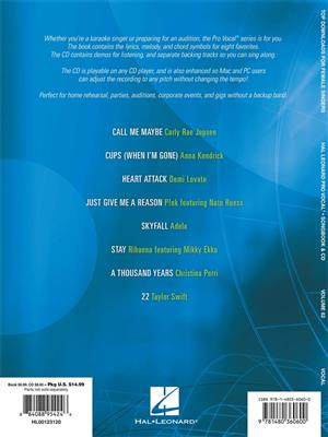 Pro Vocal Women's Edition Volume 62: Top Downloads
