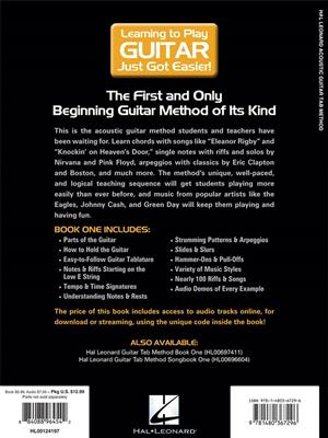 Hal Leonard Acoustic Guitar Tab Method – Book 1 (Book/Online Audio)