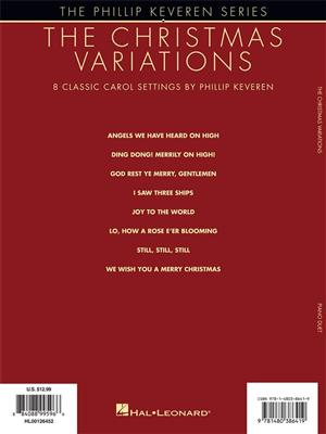The Christmas Variations: Phillip Keveren Series - Piano Duet. Sheet Music