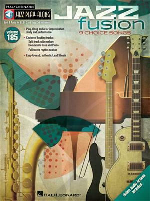 Jazz Play-Along Volume 185: Jazz Fusion (Book/Online Audio)