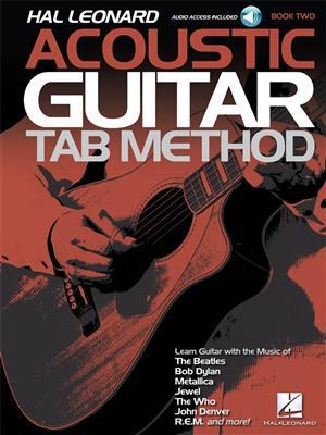 Hal Leonard Acoustic Guitar Tab Method - Book 2 (Book/Online Audio)