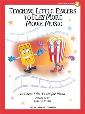 Cover for Teaching Little Fingers To Play More Movie Music Book Online Audio