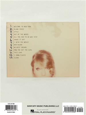 Taylor Swift 1989 PVG