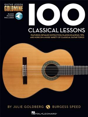 Guitar Lesson Goldmine: 100 Classical Lessons (Book/Online Audio)