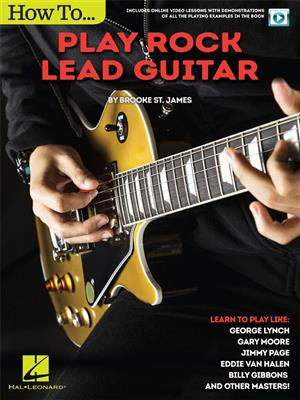 Brooke St. James: How To Play Rock Lead Guitar (Book/Online Video)