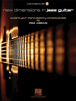 Cover for Rez Abbasi New Dimensions In Jazz Guitar