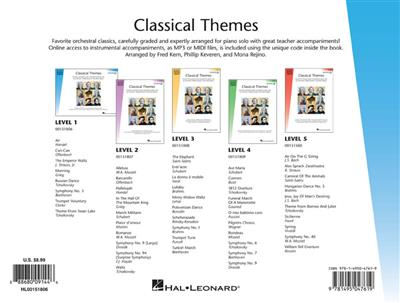 Hal Leonard Student Piano Library: Classical Themes – Level 1 (Book/Online Audio)