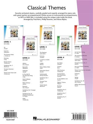 Hal Leonard Student Piano Library: Classical Themes – Level 2 (Book/Online Audio)