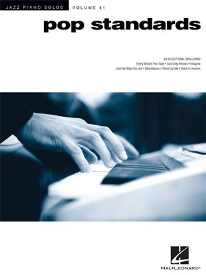 Jazz Piano Solos Volume 41: Pop Standards