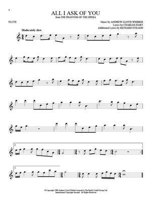 101 Broadway Songs: Flute