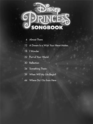 Disney Princess Songbook Singers Edition Book Online Audio