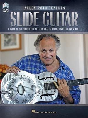 Arlen Roth Teaches Slide Guitar (Book/Online Video)