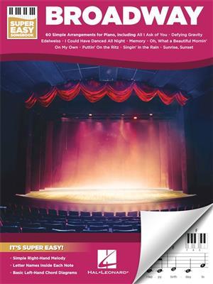 Broadway: Super Easy Songbook