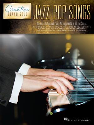 Creative Piano Solo: Jazz Pop Songs