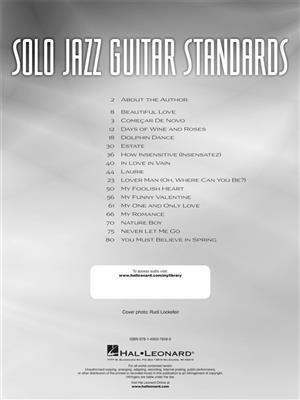 Matt Otten: Solo Jazz Guitar Standards